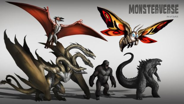 MonsterVerse by Aosk26