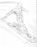Silver surfer by ejohns0338
