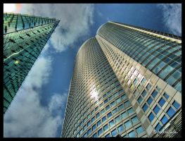 Mori Tower HDR by andrearossi