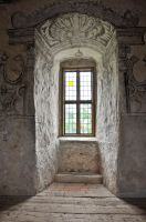 Castle window II by RavensLane