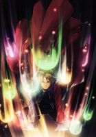 Edward Elric Regeneration by Takiboshi