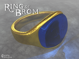 Ring of Brom by CorellaStudios