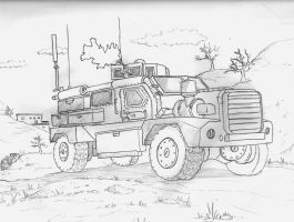 Mrap Sketch by DeSynchronizer