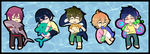 Free: Main Boy Chibis by CluelessCaptain