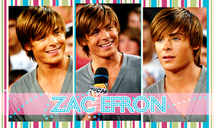 Zac Efron At Much Music by enapinxito