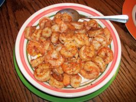 Cajun Shrimp by ChefWolf