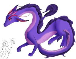 Mulan Dragon by JesamineFey123