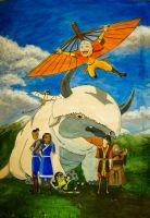 Avatar - the last airbender by small-serenity