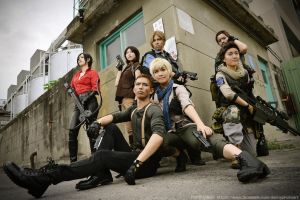 Team up - Resident Evil 6 by UchihaSayaka