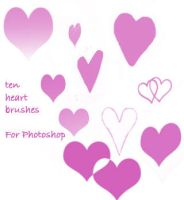 Hearts Pack One by peteandbob