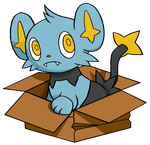 Shinx in the box by DrumblastingQuilava