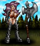 Axe Girl UPDATED by misterprickly