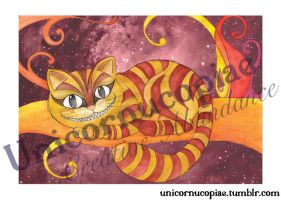 Cheshire Cat Limited Edition Print by unicornucopiae