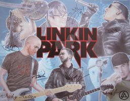 Linkin Park by ChazyChaz