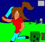 An Ordinary Day In Minecraft by Tiathefox123
