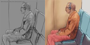 Sketchbook lifesketches  2015-04-30 by hoschie