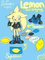 ::CE:: Lemon the hedgehog by cruiseblues