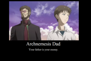 Archnemesis Dad by JasonPictures