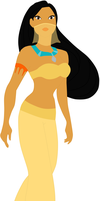 pocahontas belly dancer by twinlightownz