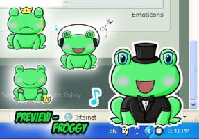 Flele Shell - Froggy by love-mist