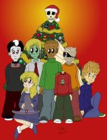 City of Weirdos Christmas by 3Fangs