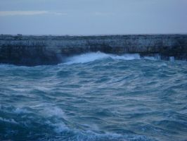 stormy sea 1 by Yavanna-stock