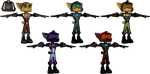 Ratchet and Clank: ItN - Armor Pack by o0DemonBoy0o