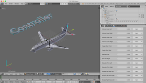 737-300 Model Now Rigged!! by blenderednelb