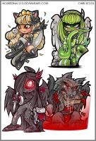 Chibi Set 03 by nosredna1313