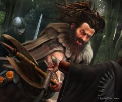 AGOT: Shagga son of Dolf by Thaldir