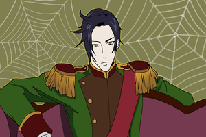 Claude's spider web by pawwii