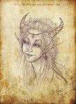 Portrait elf-Woman by Morbidouce
