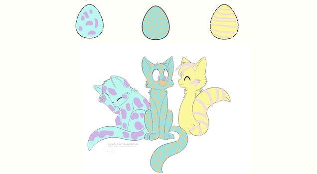 The hatched eggs... by TeddyHeadcrab