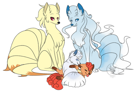 Fire And Ice by RhinestoneArts