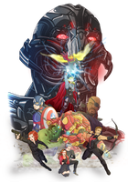 Age of ultron Marvel fanart contest by Fufunha