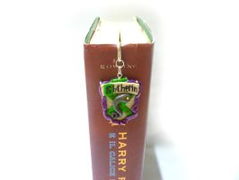 The Slythering bookmark - Harry Potter bookmark by TenereDelizie