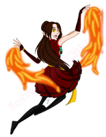 Shu Fang Long Fire Bender by TorresAdlinCDL91