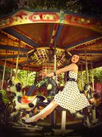 Merry-go-round II by DarkVenusPersephonae