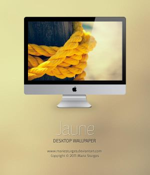 Jaune for Desktop by mariesturges