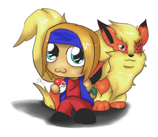 Sid and Fable Chibi by pinafta1