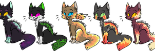 Cat Auction :CLOSED: by Swift-The-KittyAdopt