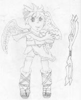 Kid Icarus Uprising fanart by Maklods