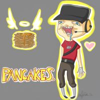 PANCAKES by ClumsyKee