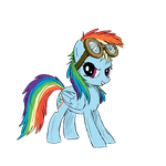 Rainbow Dash - Goggles by SlopMonster