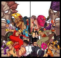 StreetFighter Vs by Yazol