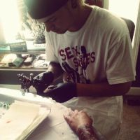 Kevin Gordon Doing A Tattoo  Thats What He Does Be by kmgsucks