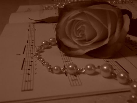 Roses + Pearls 6 by MyjesticS