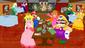 Mario, Wario and friends finished by Faircloth-DigiTalArt