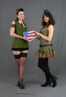 Military Gals by MajesticStock