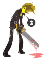 chainsaw vigilante by speedball0o